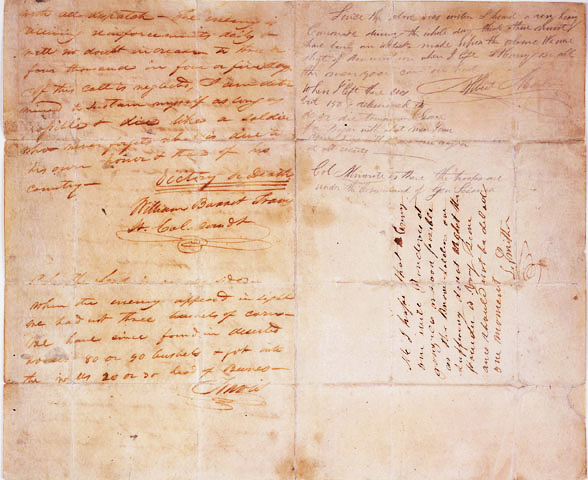 William B. Travis letter from the Alamo